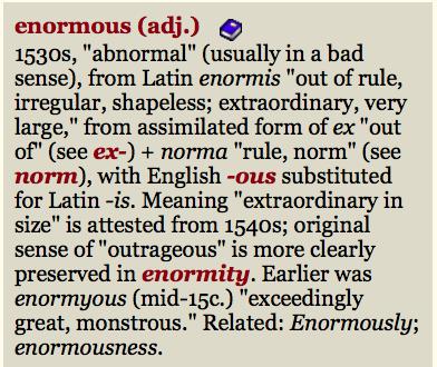 enormous-etymonline